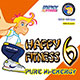 HAPPY FITNESS 6 Pure Hi-Energy