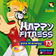 HAPPY FITNESS 13 Pure Hi-Energy