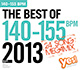 THE BEST OF 140-155 BPM 2013