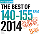 The Best Of 140-155 BPM 2014